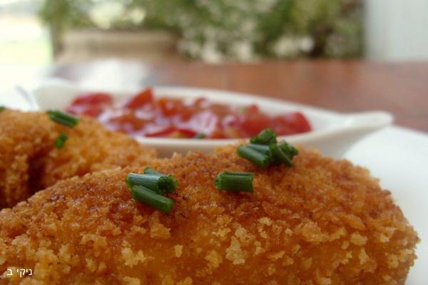 חזה עוף ממולא בשר טחון ברוטב עגבניות