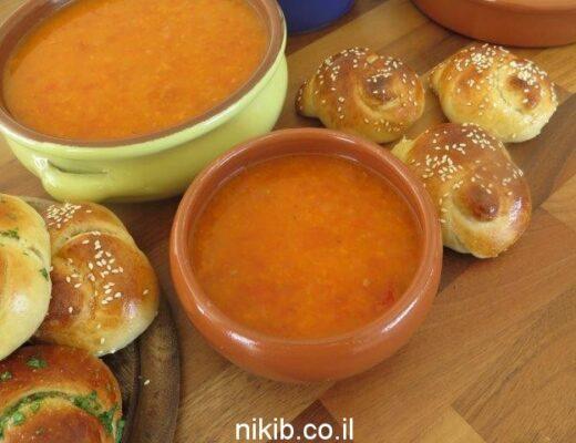 מרק עגבניות עם וודקה