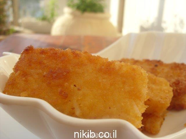 נגיסי גבינות ואורז