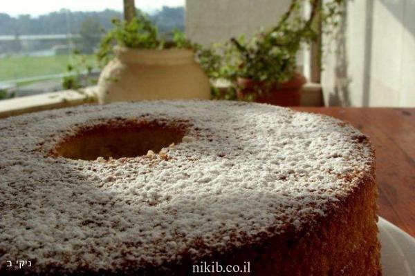 עוגת קלמנטינות גבוהה