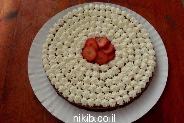 עוגת שוקולד רכה ללא קמח