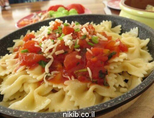 רוטב עגבניות לפסטה