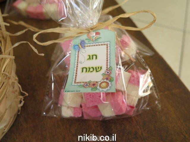 ריבועי קוקוס מתנה מתוקה