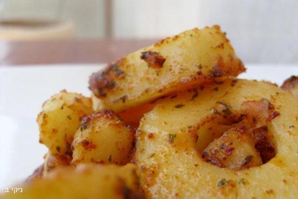 טבעות תפוחי אדמה פיקנטיות
