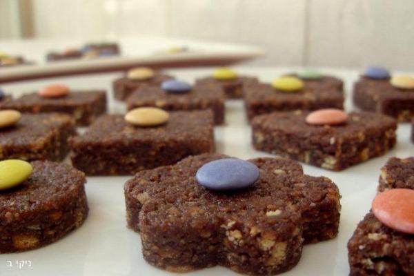 עוגיות כדורי שוקולד