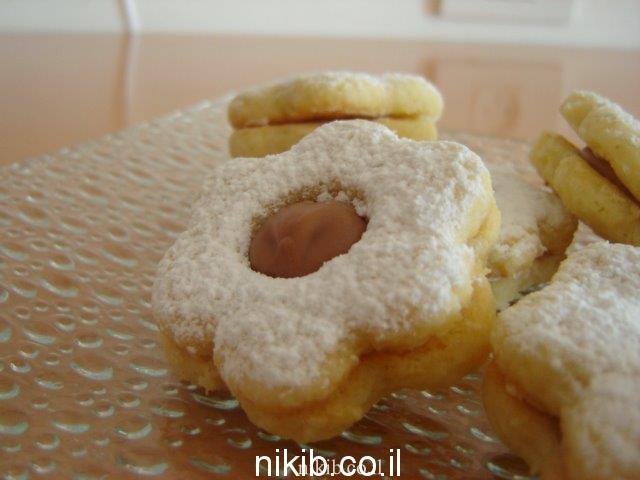 עוגיות קלמנטינות וריבה