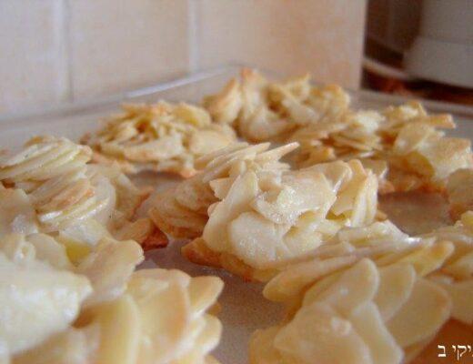 עוגיות שקדים דקיקות