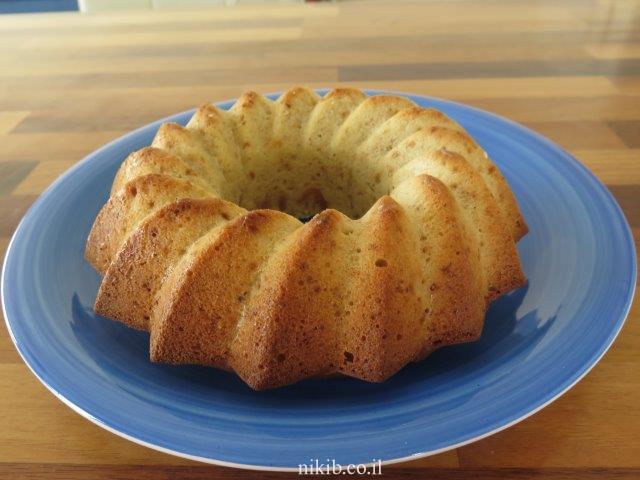 עוגת וניל קינמון לאינגליש קייק