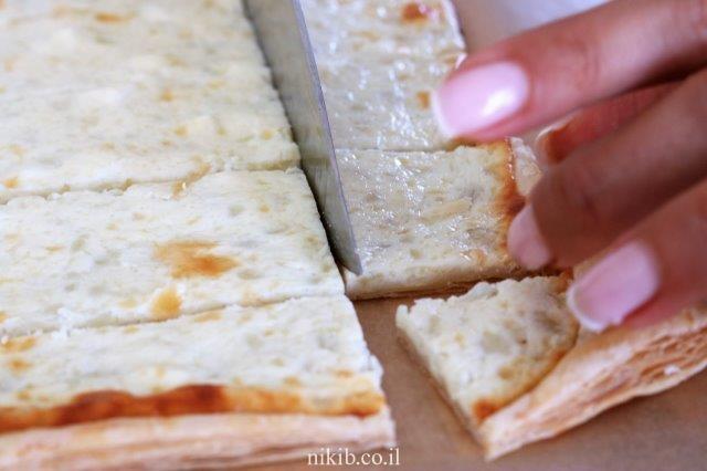 מאפה גבינות מבצק עלים