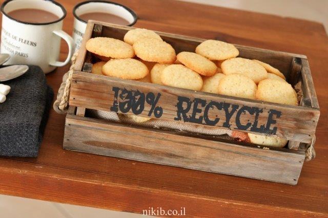 עוגיות וניל פשוטות