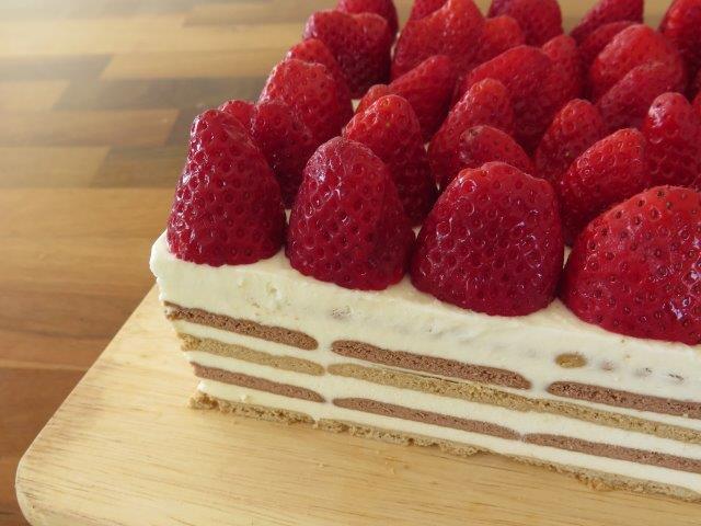 עוגת ביסקוויטים מעולה