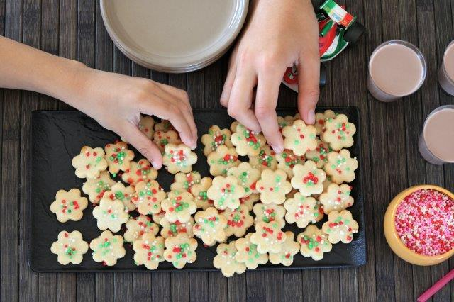 עוגיות צבעוניות