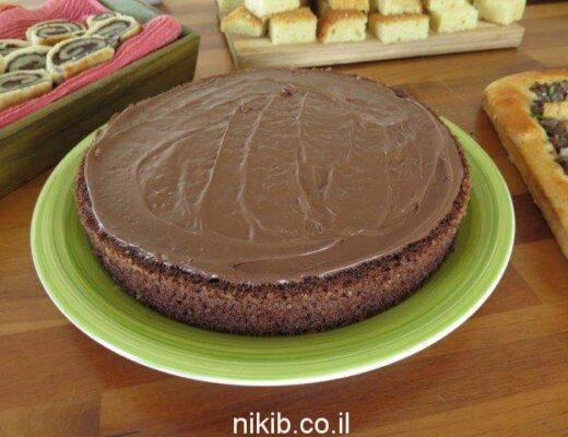עוגת שוקולד פרווה מעולה