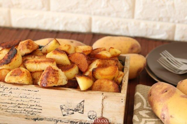 תפוחי אדמה שרופים