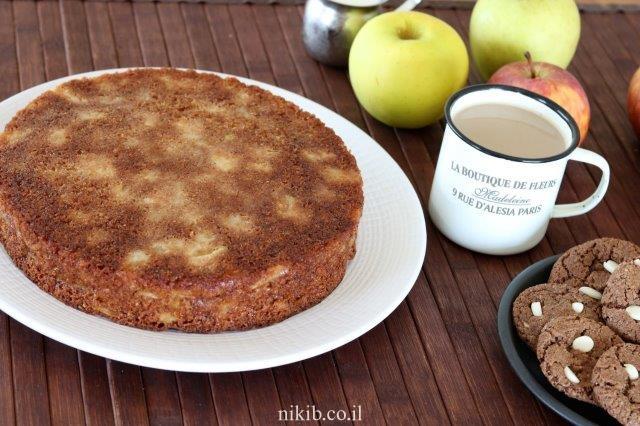 עוגת תפוחים נהדרת לפסח