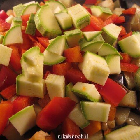 ירקות מבושלים
