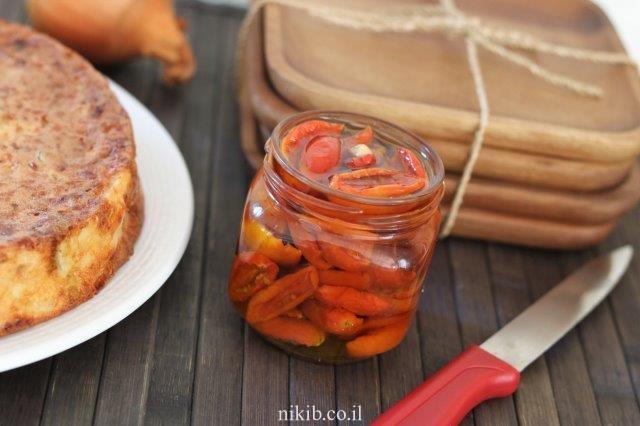 פשטידת זיתים שמנת ודבש