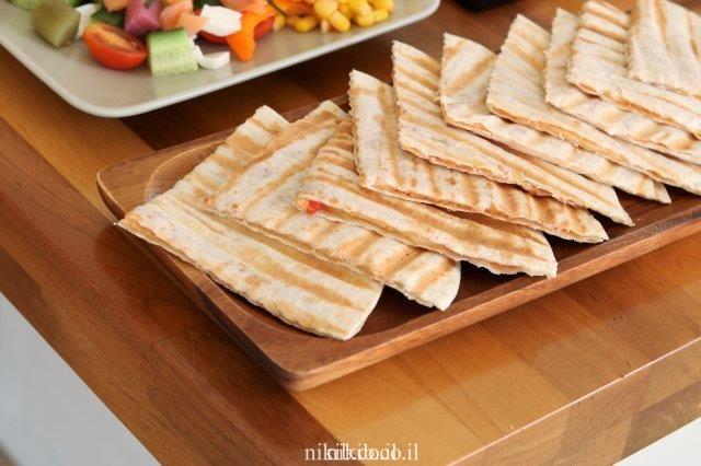 פיצה טורטייה בטוסטר