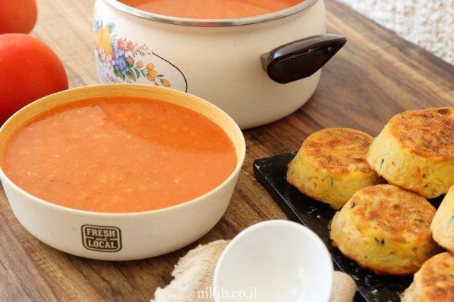 מרק עגבניות ובטטה