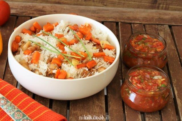 תבשיל פרגיות ואורז