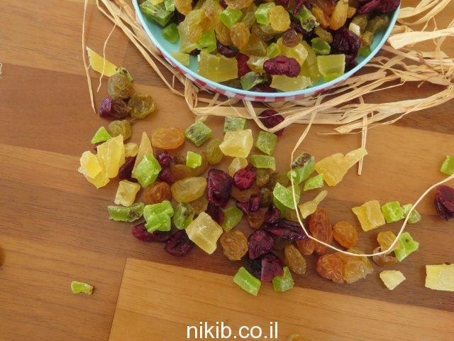 מיקס פירות יבשים לסלט