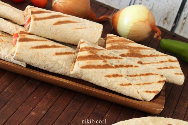 טורטייה אפויה עם בשר טחון