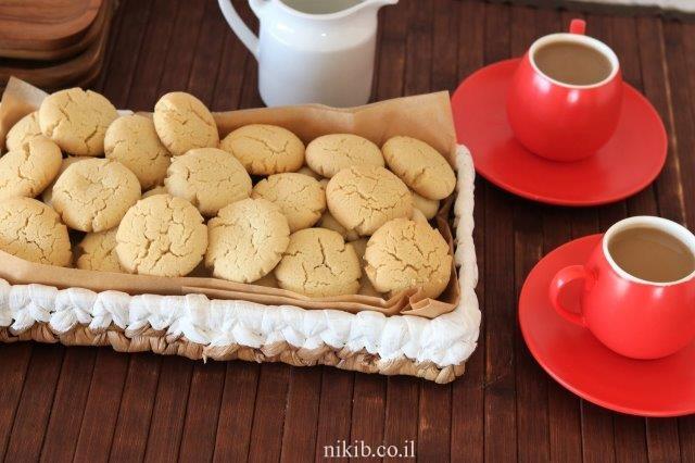 עוגיות טחינה פריכות וטעימות