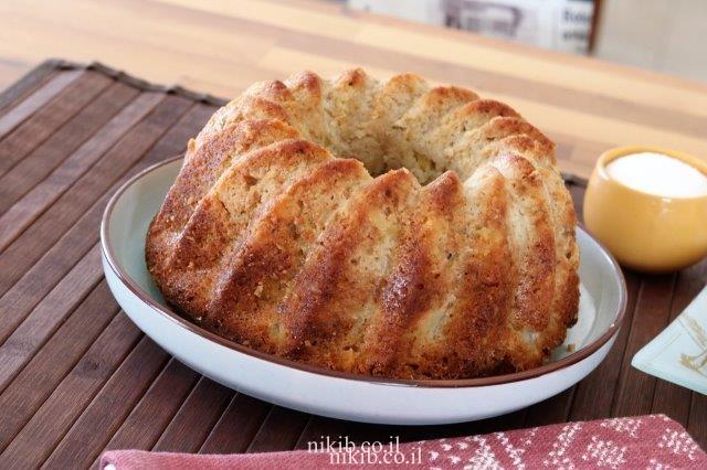 עוגת תפוחים בחושה מעולה