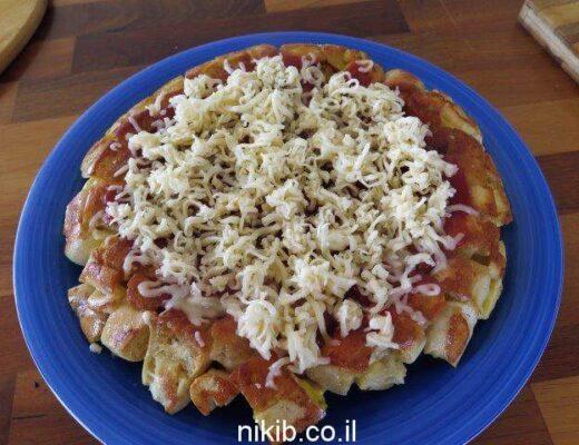פיצה משאריות לחם