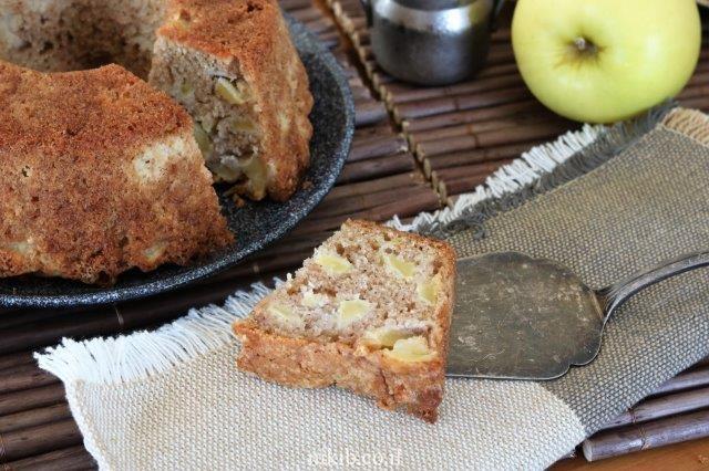 עוגת תפוחים מעולה וקלה