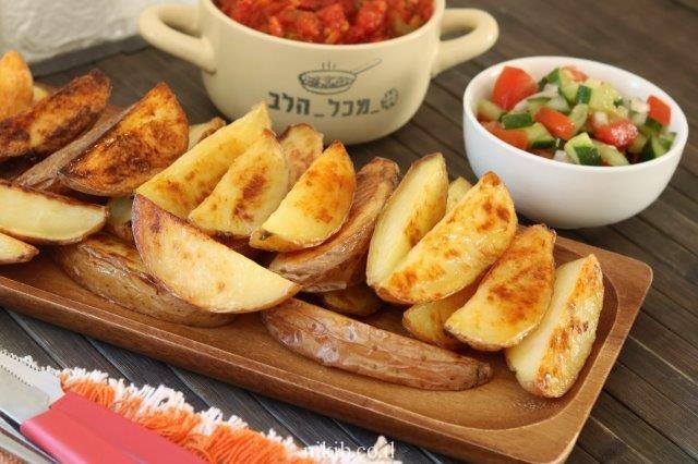 תפוחי אדמה אפויים ממכרים