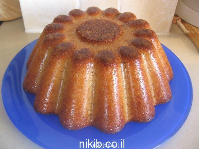 עוגת ריבת חלב קלה להכנה