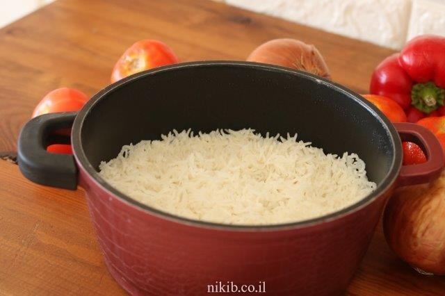 אורז לבן אחד אחד
