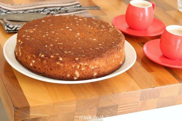עוגת שוקולד צ'יפס קלה