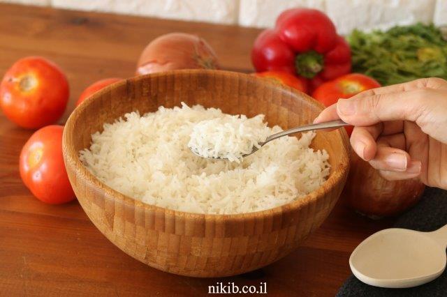 אורז לבן אחד – אחד