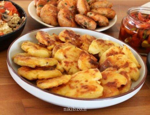 תפוחי אדמה מעוכים