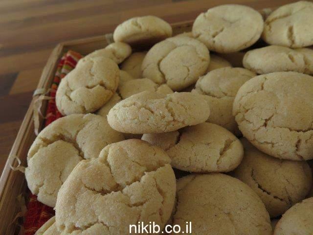 עוגיות חלבה סדוקות