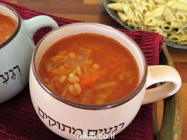 מרק עגבניות בלי עגבניות