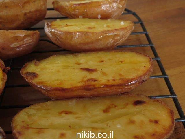 תפוחי אדמה כמו במדורה