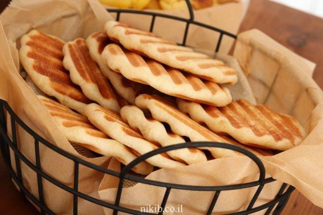 לחם שטוח מהיר