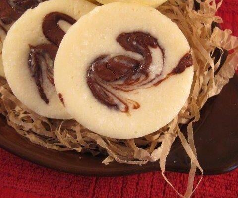 מאפינס גבינה עם נגיעות של שוקולד