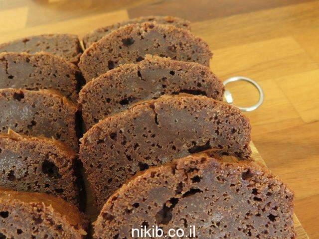 עוגת פאדג' שוקולד