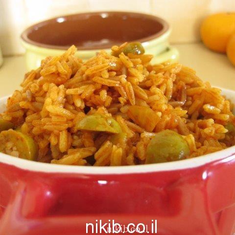 איך משדרגים אורז לבן ?