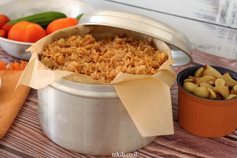 טבית – חמין עוף ואורז