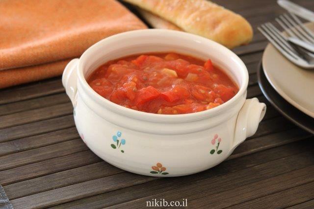 מרדומה - סלט עגבניות מבושל חריף