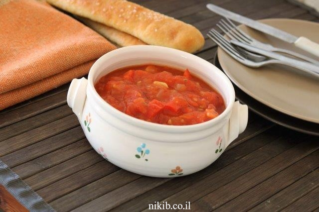 מרדומה – סלט עגבניות מבושל חריף