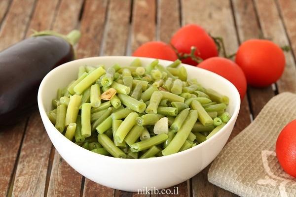 שעועית ירוקה מוקפצת
