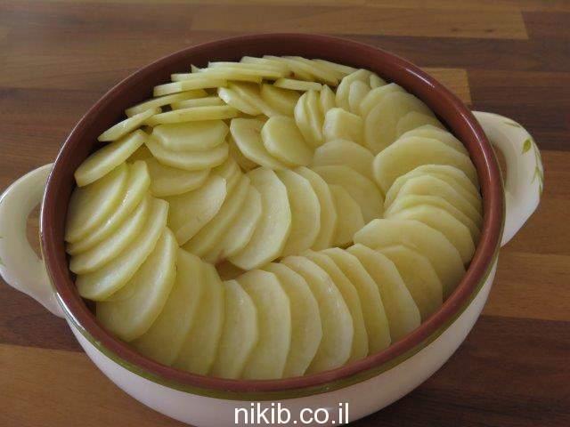 תפוחי אדמה מוקרמים