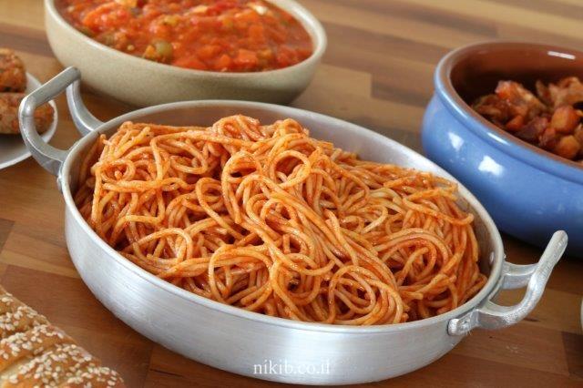 ספגטי לילדים