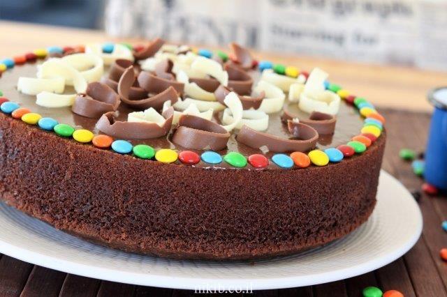 עוגת שוקולד רכה ועסיסית